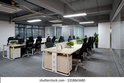 Simple office interior