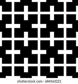 Simple pattern with geometric form with white color