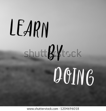Simple Quote Best Inspirational Motivational Quotes Stock Photo