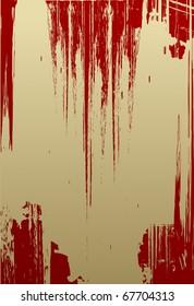 Simple red grunge textured background