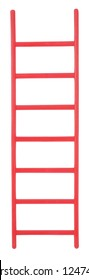 Simple red ladder