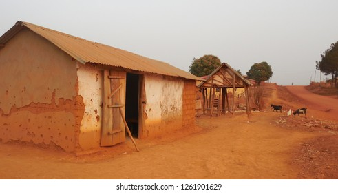 Simple Shop in African Village