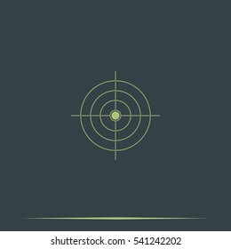 Simple target icon.