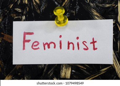 a simple and understandable inscription, feminist