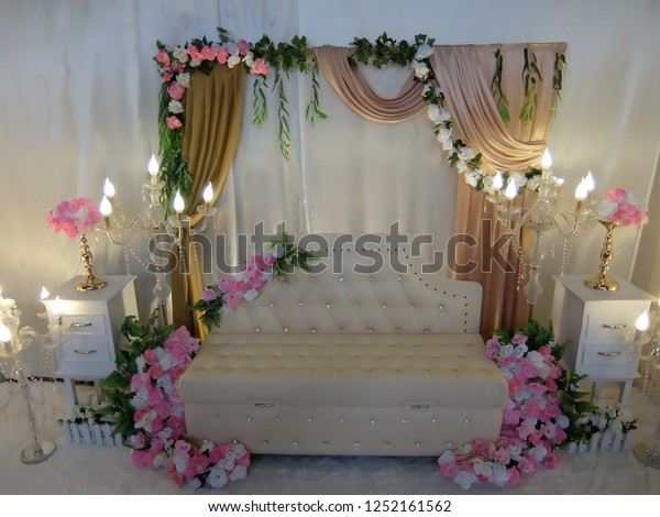 Simple Wedding Decorations.Simple Wedding Decorations Room Stock Photo Edit Now 1252161562