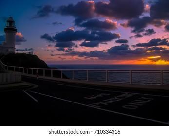 A simply stunning sunrise over Byron Bay, Australia