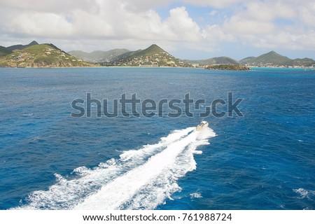 Simpson Bay Caribbean tropical