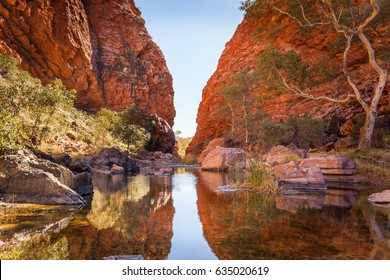 Simpson Gap, 22 km west of Alice Spings, Northern Territory, Australia