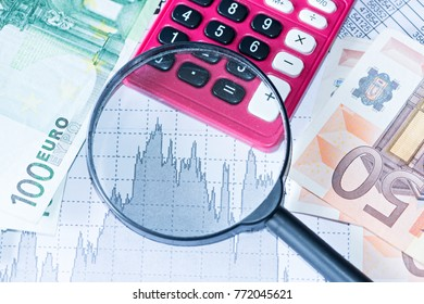Simulation of graphs and financial studies with money from the European Union