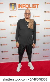 Sinbad attends 2019 InfoList Pre Comic-Con Bash at Wisdome Dome Park, Hollywood, CA on July 11th, 2019