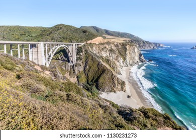 Since 1932, the Bixby Creek Bridge has graced the magnificent Big Sur coast of California.