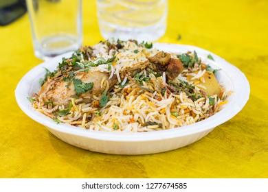 Sindhi Biryani, Indian traditional food, Ramadan Meal, Pakistani Iftar dinner, Eid Party.