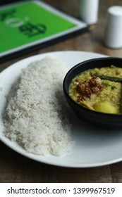 Sindhi Curry with Rice (Traditional Sindhi food)