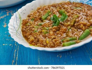 Sindhi Kadhi, Sanjeev Kapoor Khazana,Mixed vegetables , Sindhi cuisine.