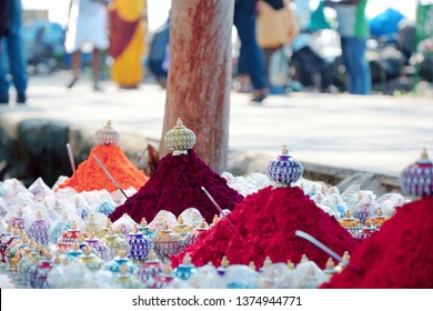 Sindoor or Sindooram is a traditional vermillion red or  coloured cosmetic powder from Indian subcontinent usually worn by married women  along the part of their hair. Shop selling Sindhoor.