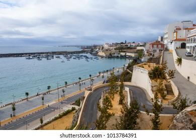 SINES, PORTUGAL - 11 October, 2015: View to Praia Vasco da Gama at Sines, Portugal.