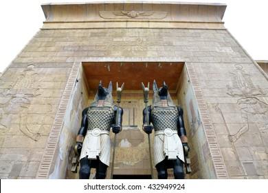 anubis sculpture Images, Stock Photos & Vectors   Shutterstock