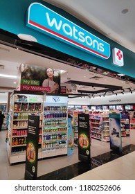 SINGAPORE - 09 SEP 2018: Watsons Store located in Vivocity Singapore. Watsons Personal Care Stores known simply as Watsons is the largest health care and beauty care chain store in Asia
