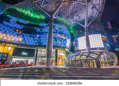 SINGAPORE - 22 May 2015 :ION Orchard, formerly known as the Orchard Turn Development or Orchard Turn Site, is the retail component of an integrated retail and residential .
