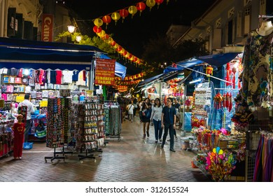 SINGAPORE - 22 May 2015 :Singapore's Chinatown is an ethnic neighbourhood featuring distinctly Chinese cultural elements and a historically concentrated ethnic Chinese population.