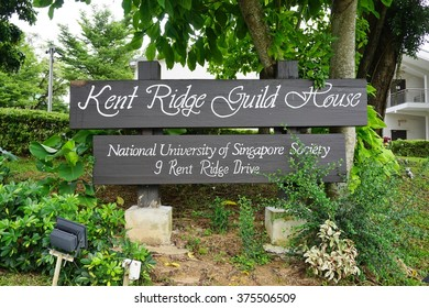 SINGAPORE -23 JAN 2016- Campus of the National University of Singapore. Founded in 1905, NUS is the oldest and largest research and teaching university in Singapore and one of the best in the world.