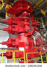 SINGAPORE - AUGUST 20, 2015: Commissioning Offshore Jack Up Drilling in Keppel FELS Shipyard Singapore