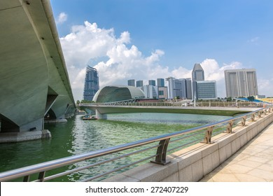 Singapore city in the daytime