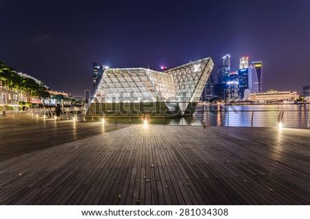 05cfa31848ab Singapore City Singapore OCT 4 2014 Stock Photo (Edit Now) 281034308 ...