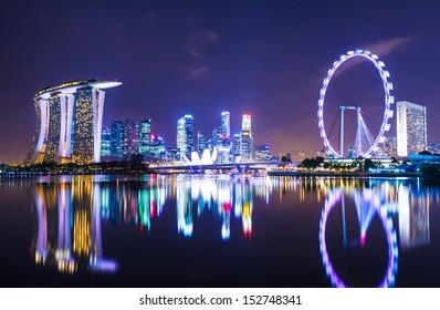 Singapore cityscape