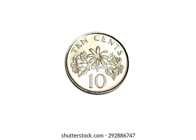 Singapore coin 10 cents