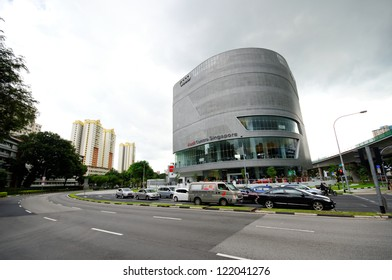 SINGAPORE - DECEMBER 15: Facade of the new Audi Centre Singapore during its opening day December 15, 2012 in Singapore