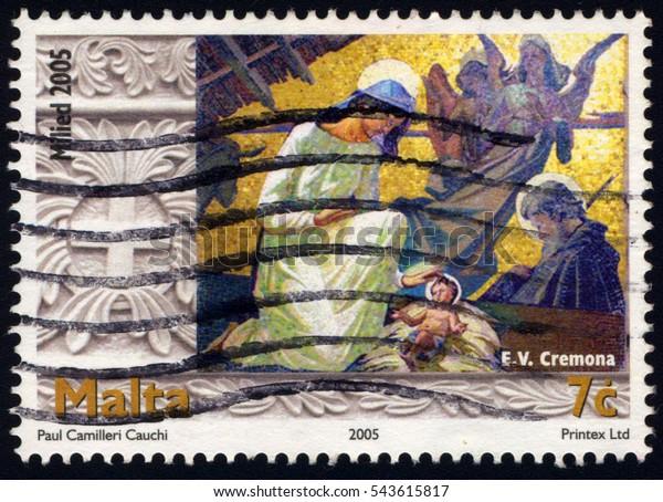 Singapore December 27 2016 Stamp Printed Stock Photo (Edit