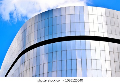 Singapore - February 19 2018: The Mediacorp Building at Fusionopolis Industrial Park against the sky