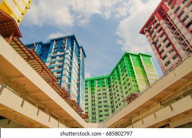Singapore HDB residential public housing