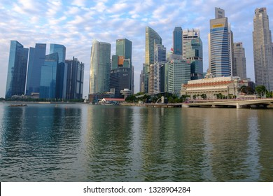 Singapore - January 27, 2019 : Singapore is a country that has both economic and educational potential. Therefore considered that Singapore is a fully developed country in all aspects