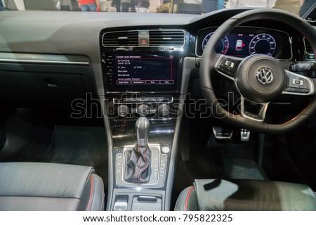 Singapore January 8 2018 Interior Volkswagen Stock Photo Edit Now