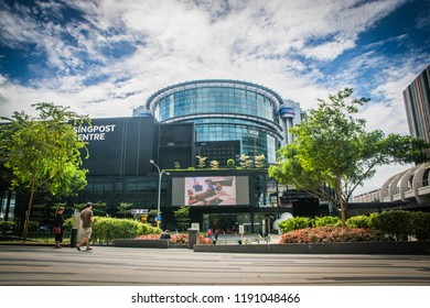 Singapore / Singapore - June 30, 2018: Singpost Centre in Paya Lebar, Singapore
