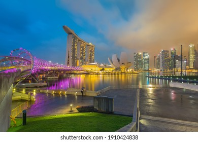 Singapore Landmark with cityscape picture