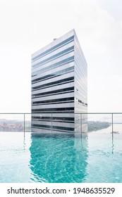 Singapore, Singapore - March 29 2021: Gateway tower Singapore