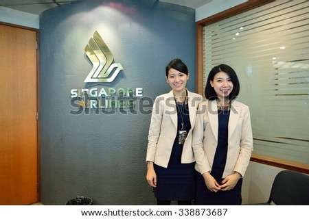 0bad92f1a24f SINGAPORE NOVEMBER 07 2015 Staff Changi Stock Photo (Edit Now ...