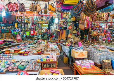 Singapore, Singapore - October 15, 2016 : Souvenir in gift shops at Little India, Singapore during Deepavali day
