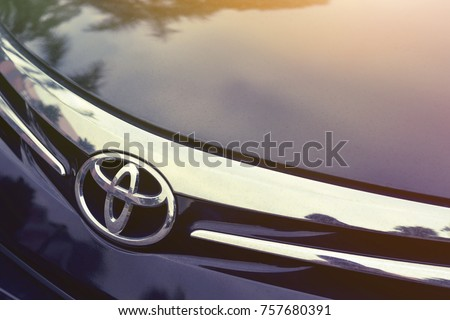 Singapore October 22 2017 Close Toyota Stock Photo Edit Now