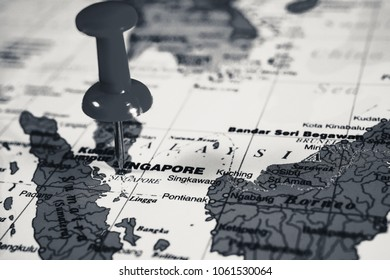 Singapore on the map