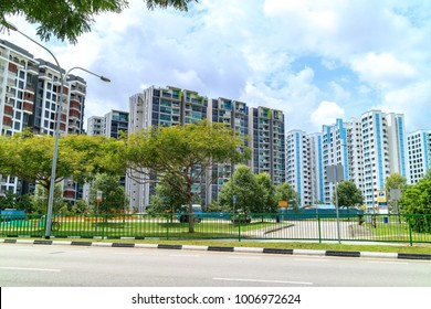 Singapore Public Housing Apartments in Punggol District