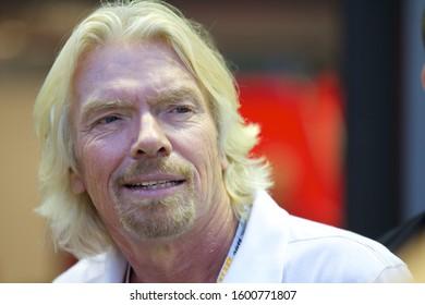Singapore / Singapore - Sept 25 2011: Sir Richard Branson at Singapore F1 Grand Prix