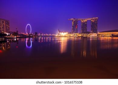 Singapore skyline : June 25 , 2013 : Singapore