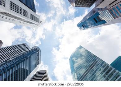 Singapore skyscraper