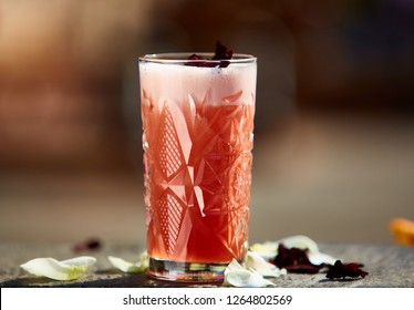 The Singapore Sling cocktail