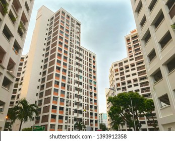 SINGAPORE:13 Jan 2019: Housing & Development Board (HDB) flat in Singapore. HDB flats are home to over 80% of Singapore's resident population, with about 90% of these resident households is the owner.