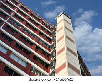 SINGAPORE:2 March 2019: Housing & Development Board (HDB) flat in Singapore, home to over 80% of Singapore's resident population, with about 90% of these resident households is the owner.